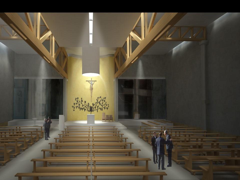 """Lavori Chiesa – Parola d'ordine """"la utilizziamo comunque per il SantoNatale!"""