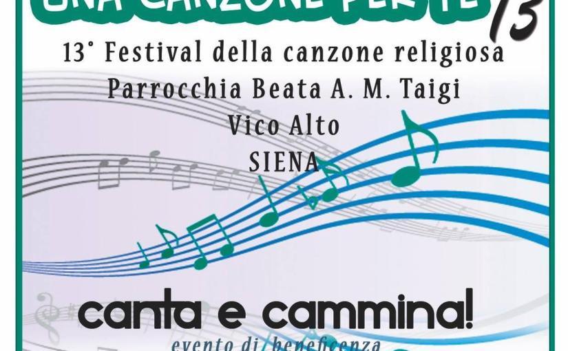 13° Festival della canzone religiosa – Vico Alto – Venerdì 29 e Sabato 30 ore21,00