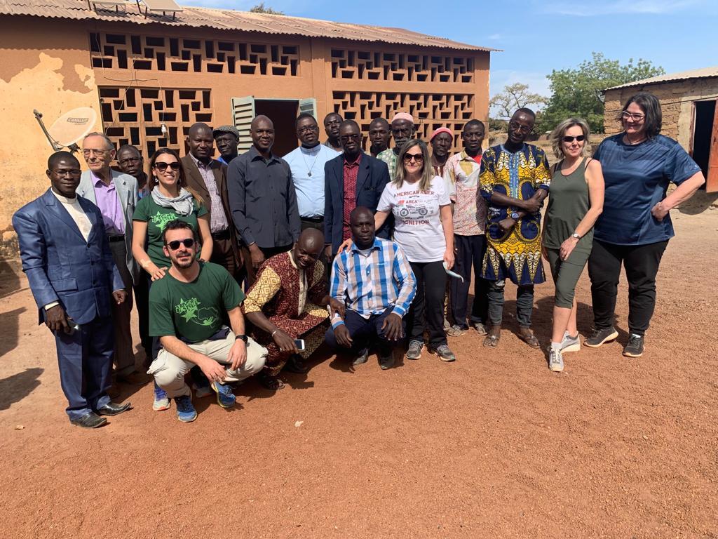 Don Sergio Invita a partecipare all'attività della ODV perl'Africa