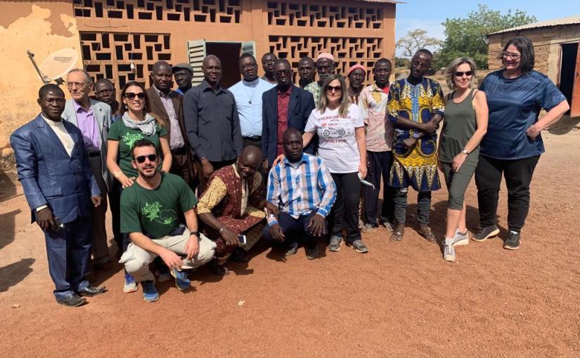 Più di 300 visite ad un villaggio a circa 100 Km. da Bamako