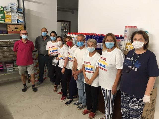 L'AVIS DI SIENA, rifornisce la Caritas di San Miniato con prodotti per l'igiene – 15 Luglio2020